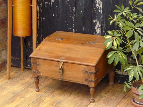 Old Wooden Merchant's Desk 7