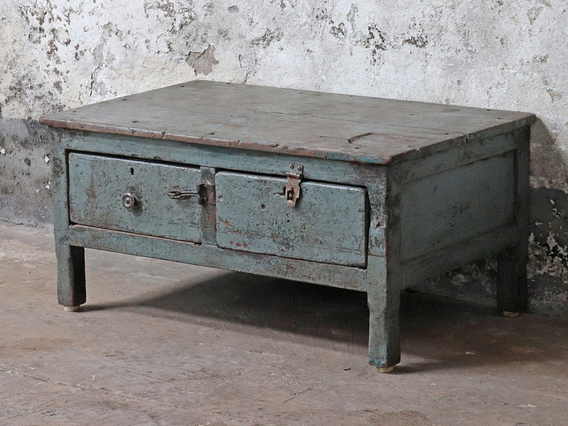 View our  Blue Vintage Table from the  Vintage Cabinets & Cupboards collection