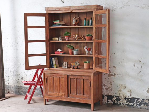 View our  Vintage Storage Cabinet from the  Hallway collection