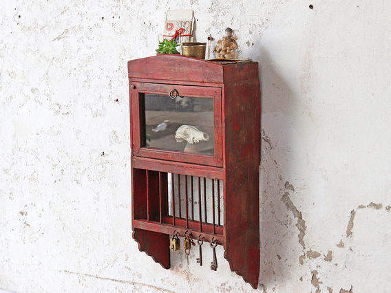 View our  Red Wall Cabinet Rack from the  Sold collection