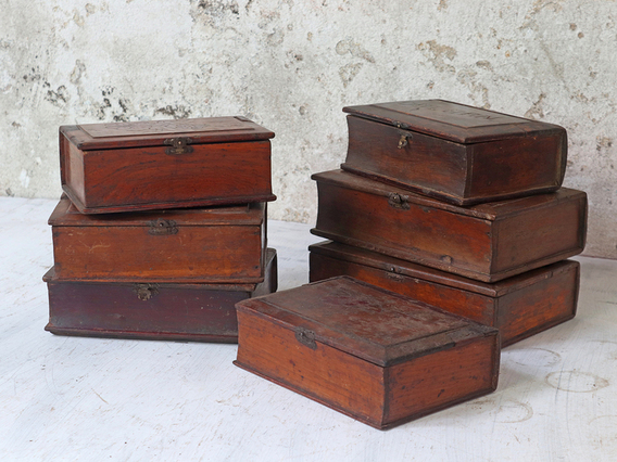 Wooden Shaving Box