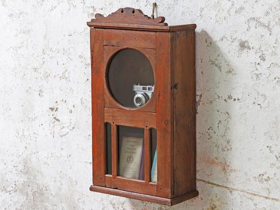Re-Purposed Clock Cabinet