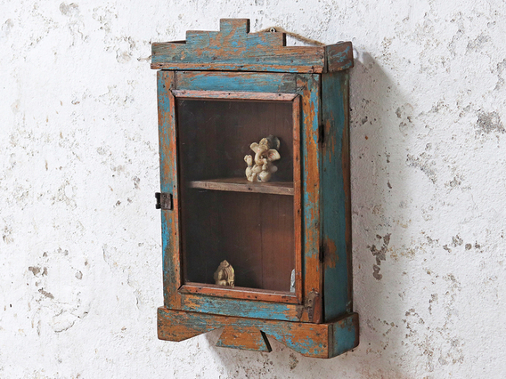 Blue Shabby Chic Cabinet