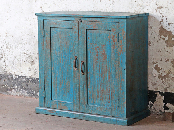 View our  Blue Vintage Cupboard from the  Sold collection