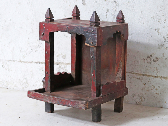 View our  Wooden Temple Display Stand from the   collection