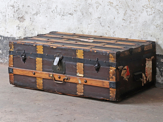View our  Vintage Travel Trunk from the  Sold collection