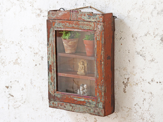 View our  Shabby-Chic Wall Cabinet from the   collection