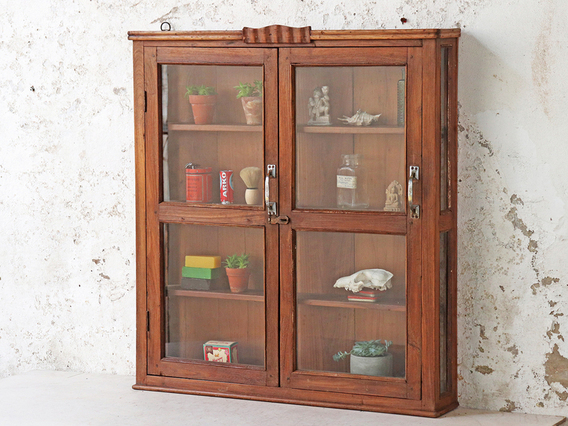 View our  Vintage Wall Display Cabinet from the   collection