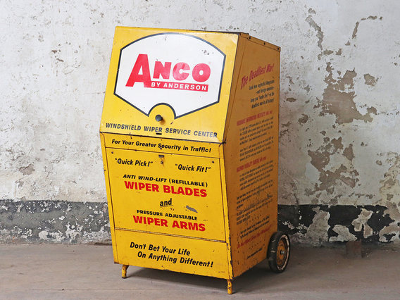 Vintage Industrial Trolley Cabinet by Anco