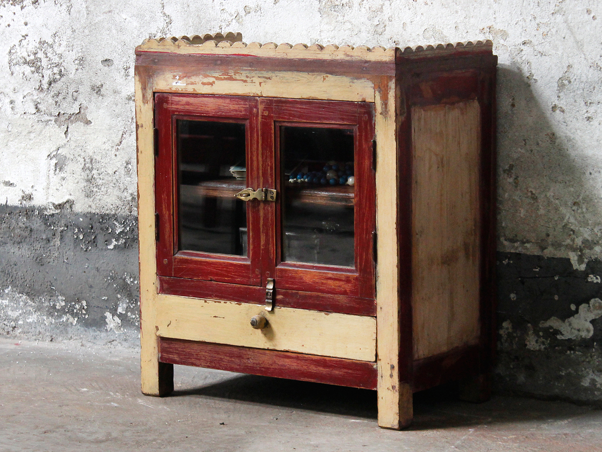vintage lyon home range wall with unit itm furniture cream cabinet country cupboard storage drawers mounted style