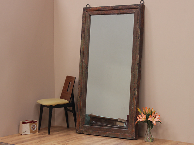 Antique Door Frame Mirror Sold Scaramanga
