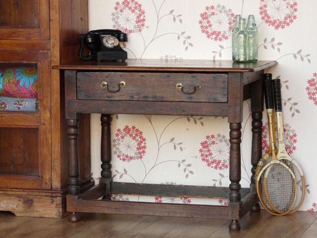 Amazing Antique Hall Table