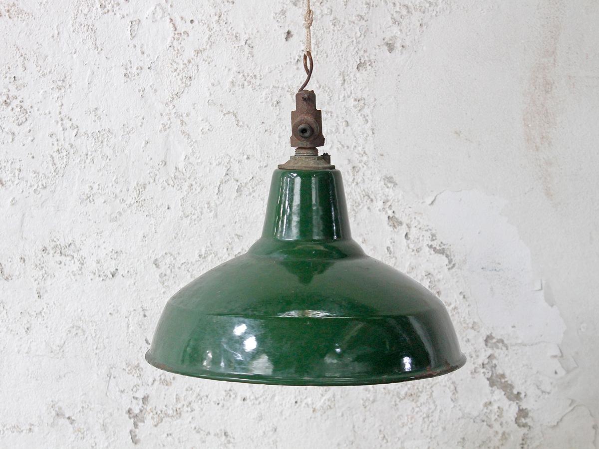c4a28da926c7 Large Vintage Enamel Pendant Lamp Shade - Vintage & Retro ...