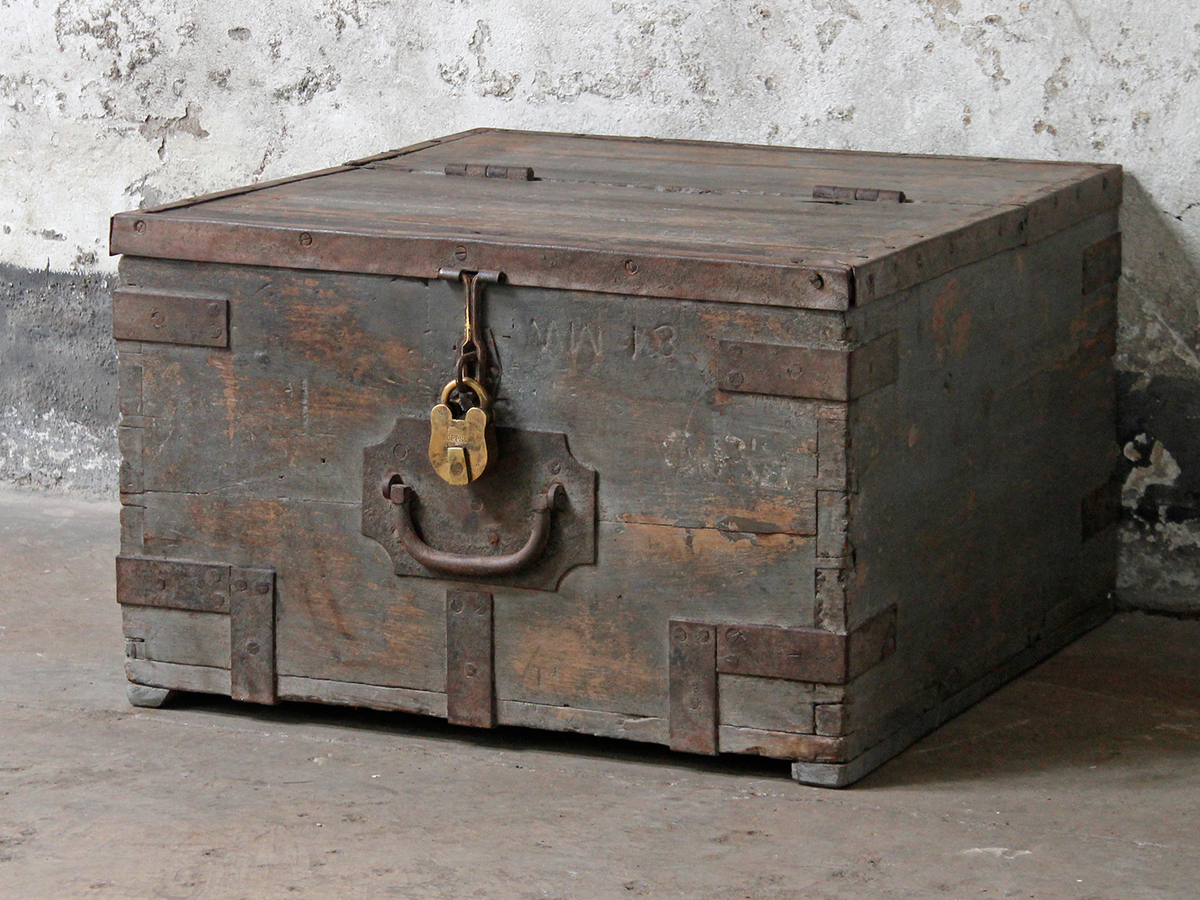 Old Military Chest