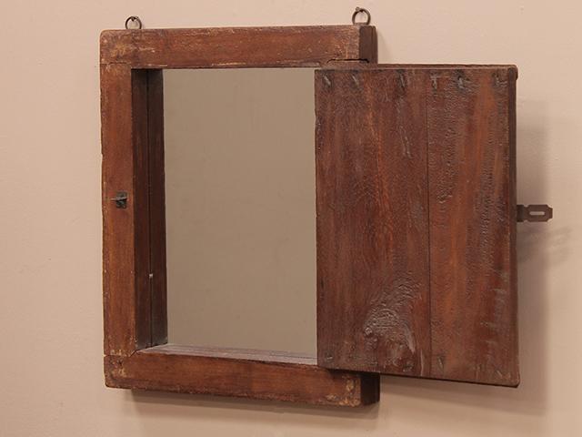 shuttered window frame mirror wooden mirrors scaramanga. Black Bedroom Furniture Sets. Home Design Ideas