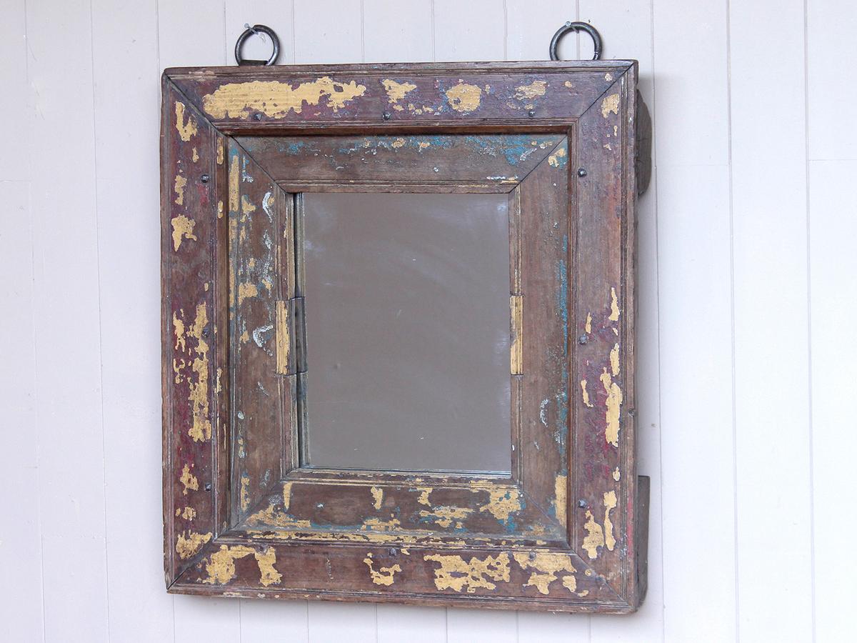 Old Window-Frame Mirror - Wooden Mirrors - Scaramanga
