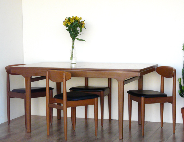 50s Dining Room - Retro Dining Table By Nathan Hottest Project On ...