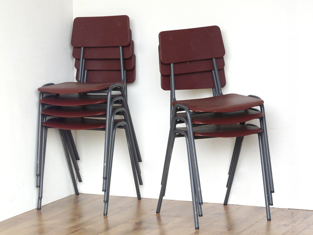Superb Retro School Chairs By Remploy