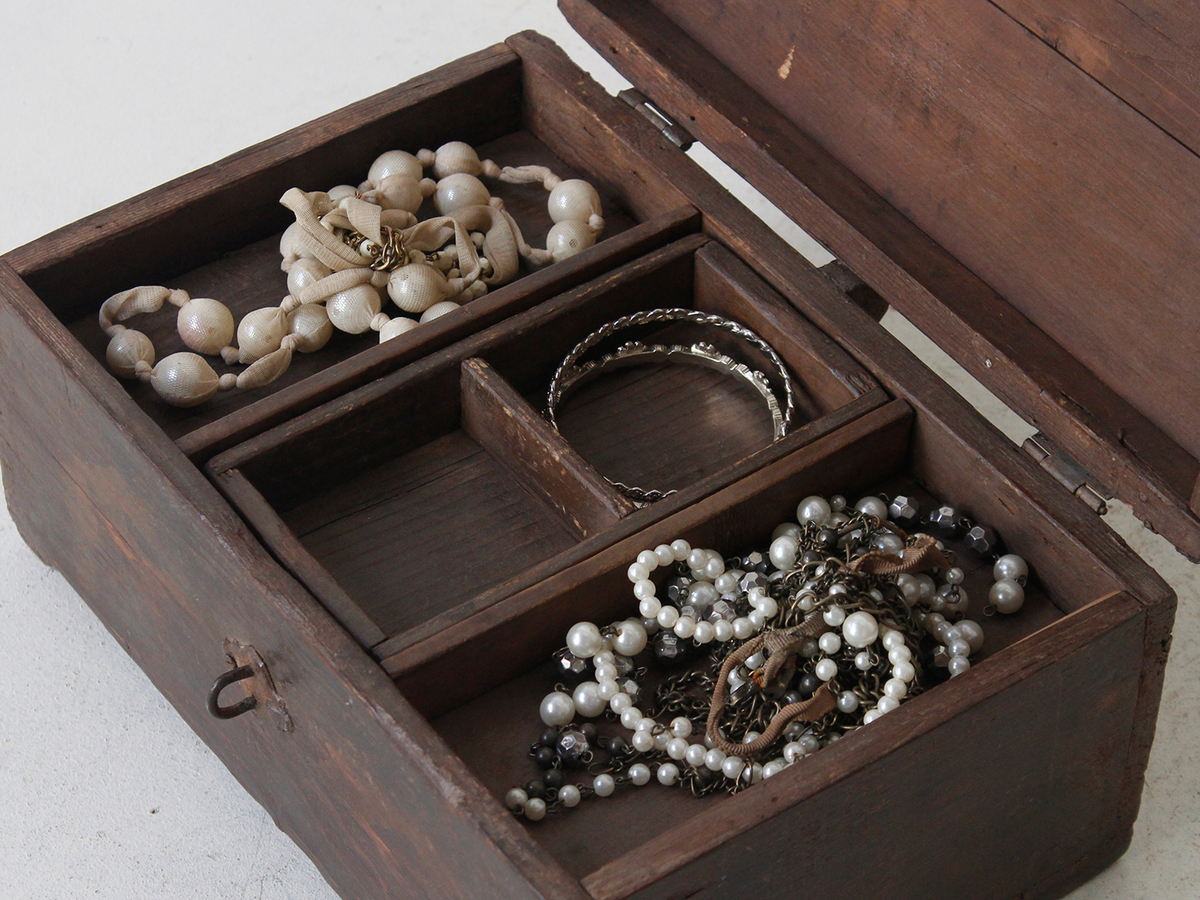 Vintage Jewellery Box | Wooden Boxes | Vintage Furniture