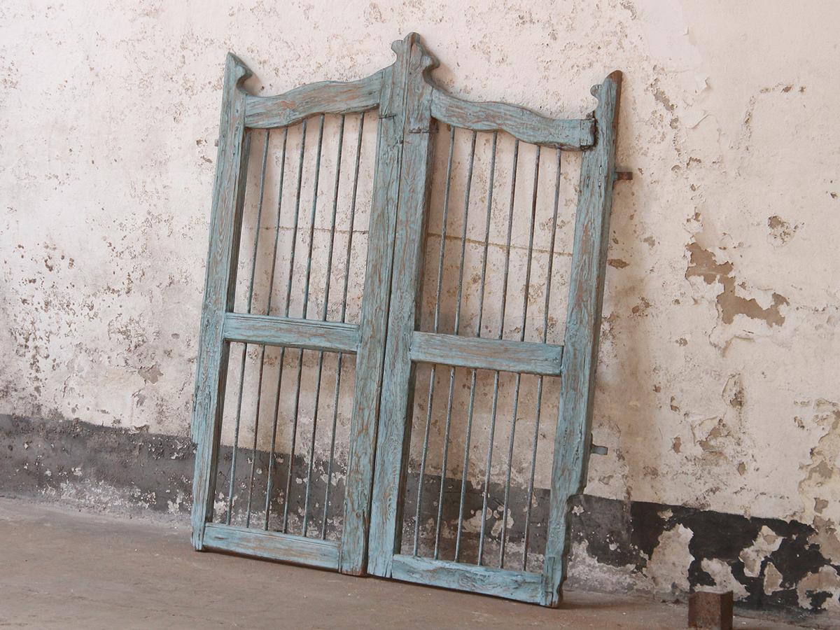 Vintage wooden gates sold scaramanga