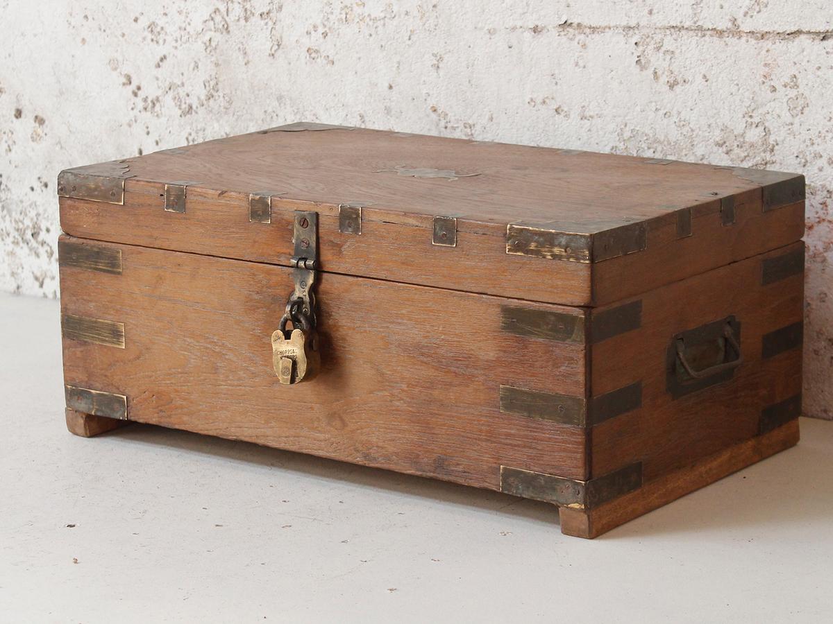 Small Wooden Box At Scaramanga