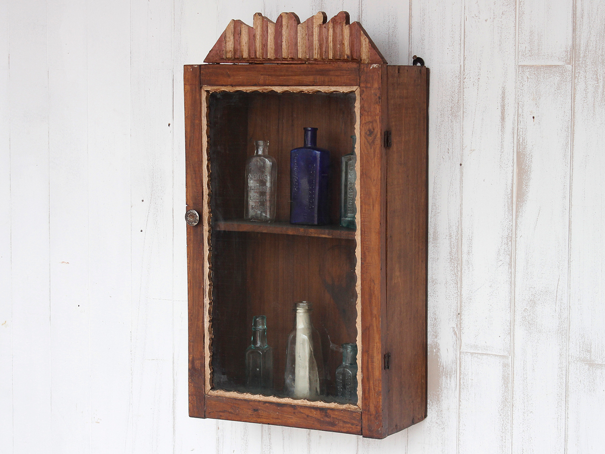 Vintage Bathroom Cabinet Sold Scaramanga