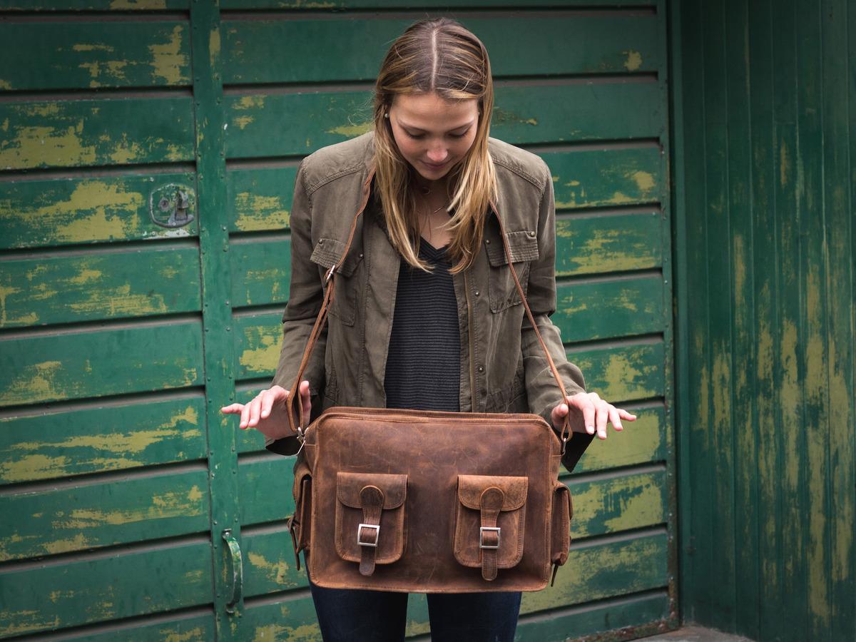 3ff4559f51 Vintage Leather Flight Bag 2 - Sold - Scaramanga