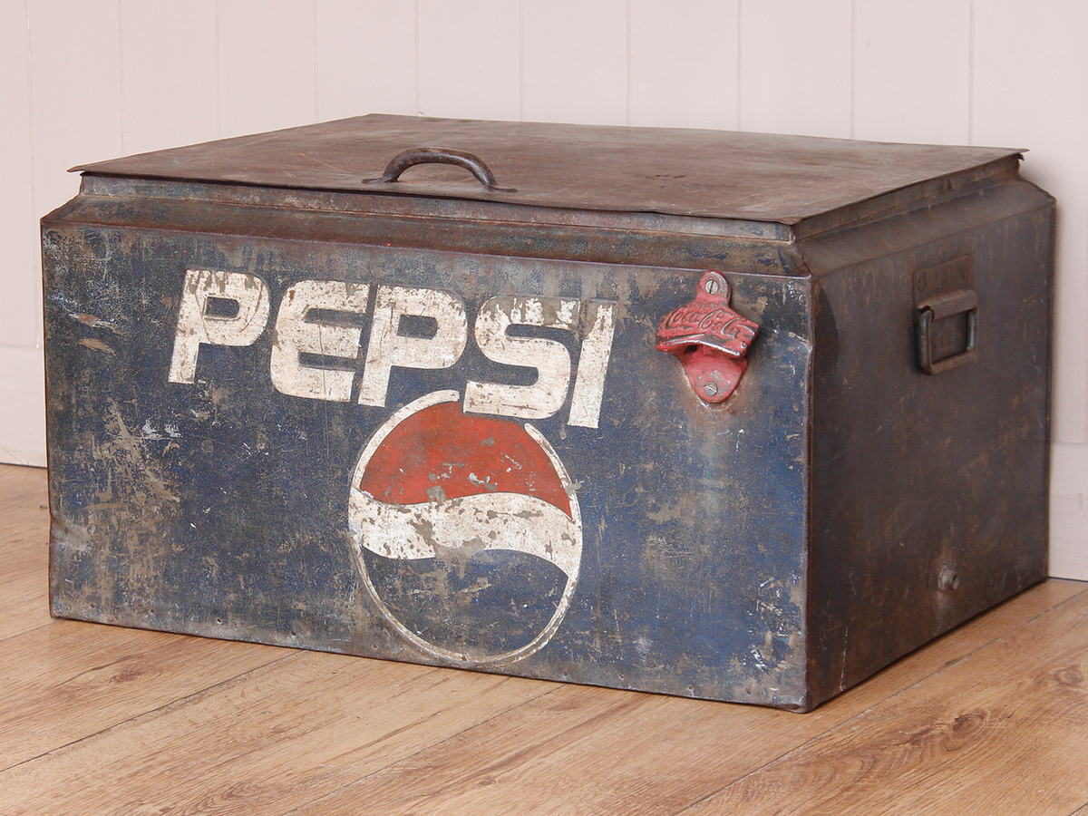 Cool Box vintage pepsi cool box - sold - scaramanga