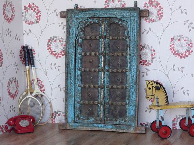 Antique Window Frame And Shutters 2 Sold Scaramanga