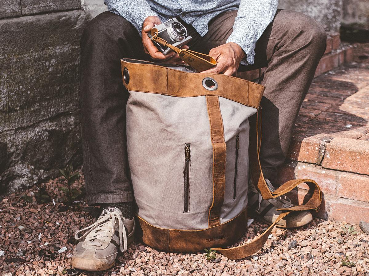 2e52159a0036c Canvas Duffle Shoulder Bag