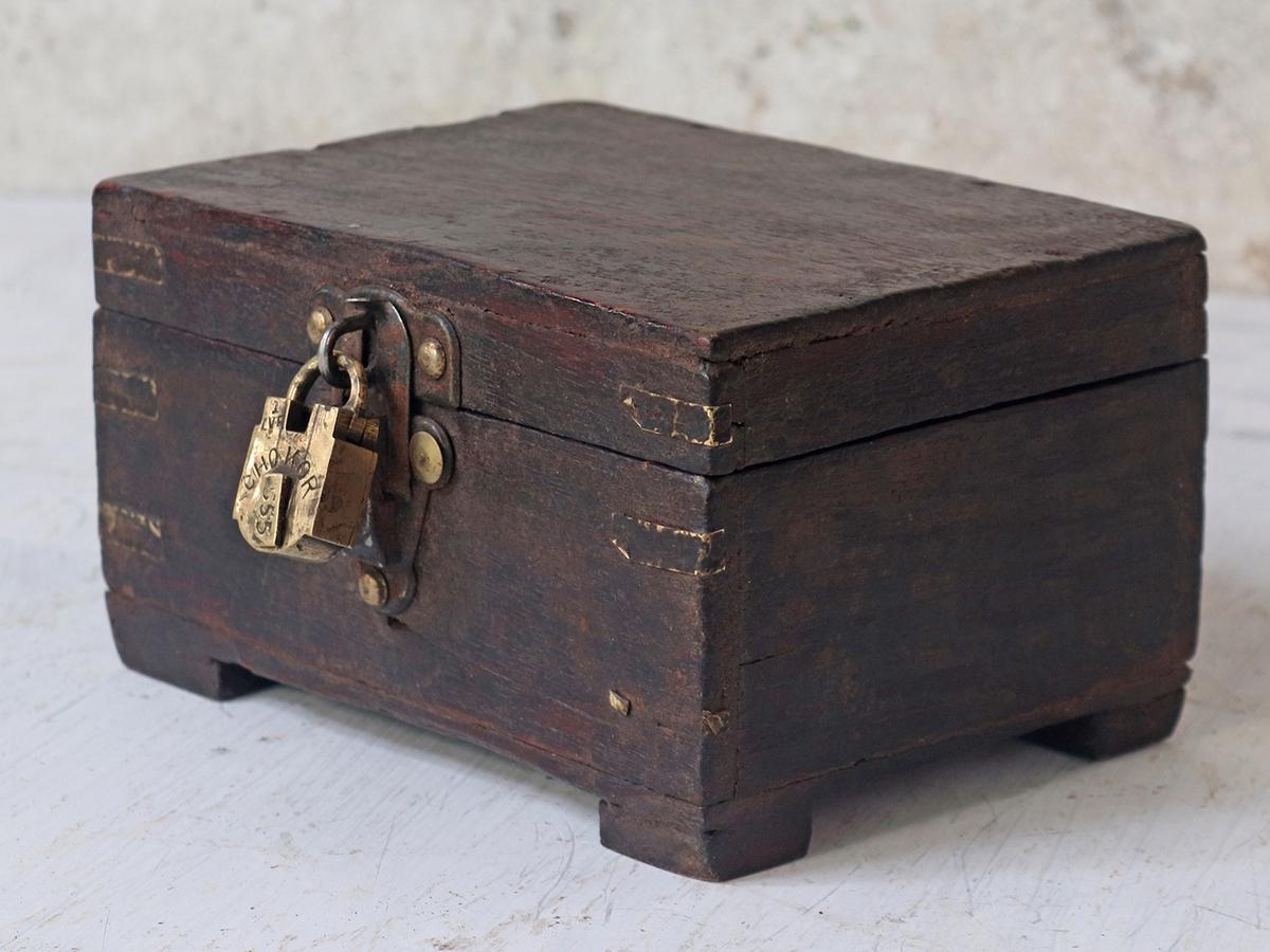 Old Wooden Box At Scaramanga