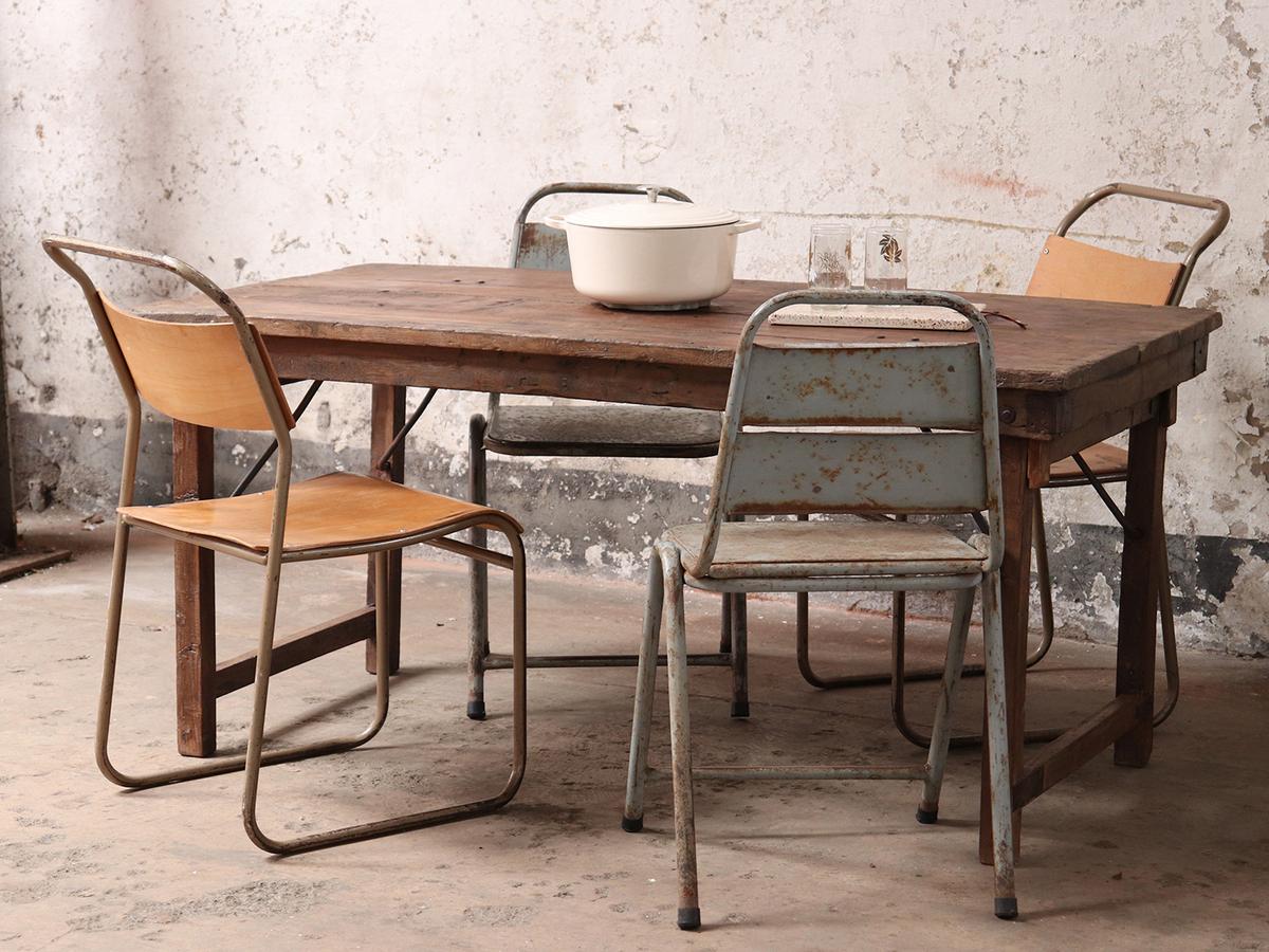 - Folding Dining Table Vintage Tables Scaramanga