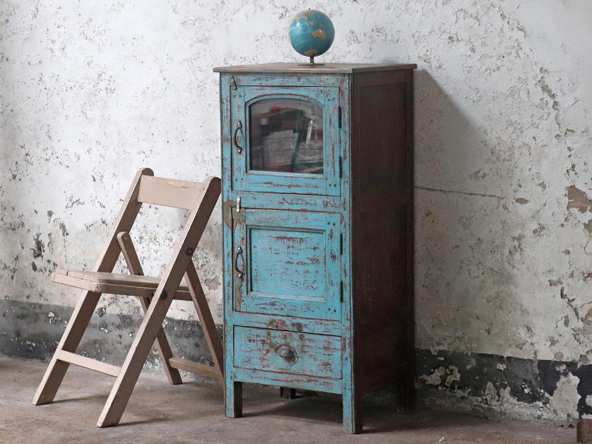 Vintage Narrow Cupboard - Vintage Cabinets & Cupboards - Scaramanga