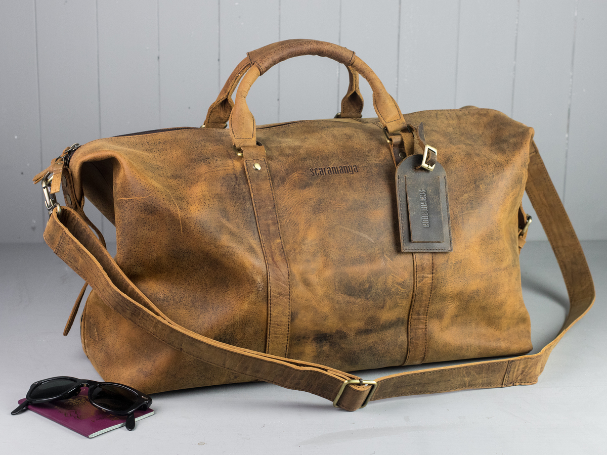 ab0cbbf88 Leather Duffle Bag Thumbnail; Leather Duffle Bag Thumbnail ...