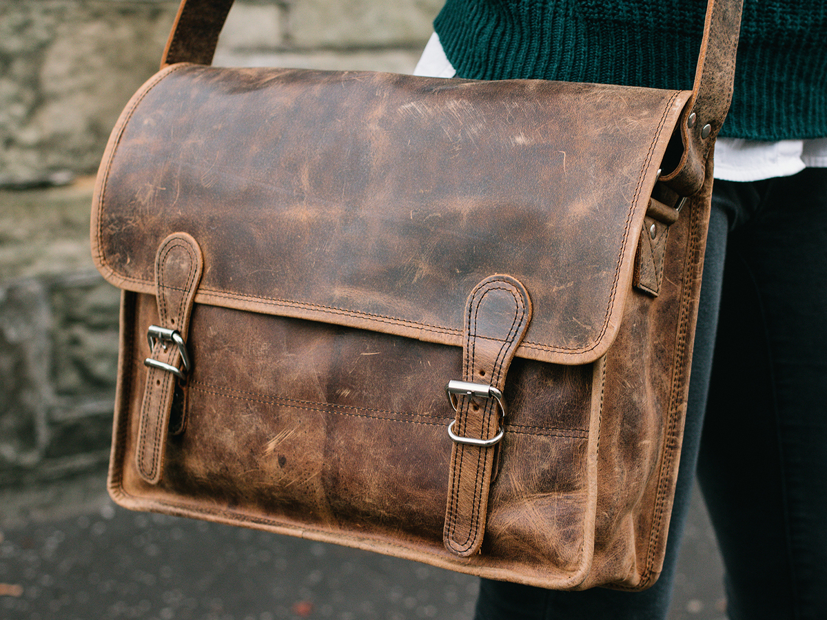 Leather Satchels | Brown Leather Satchels | Scaramanga