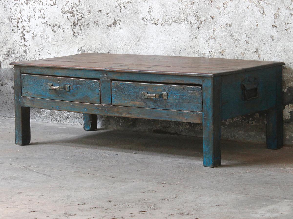 Blue Coffee Table Sold Scaramanga