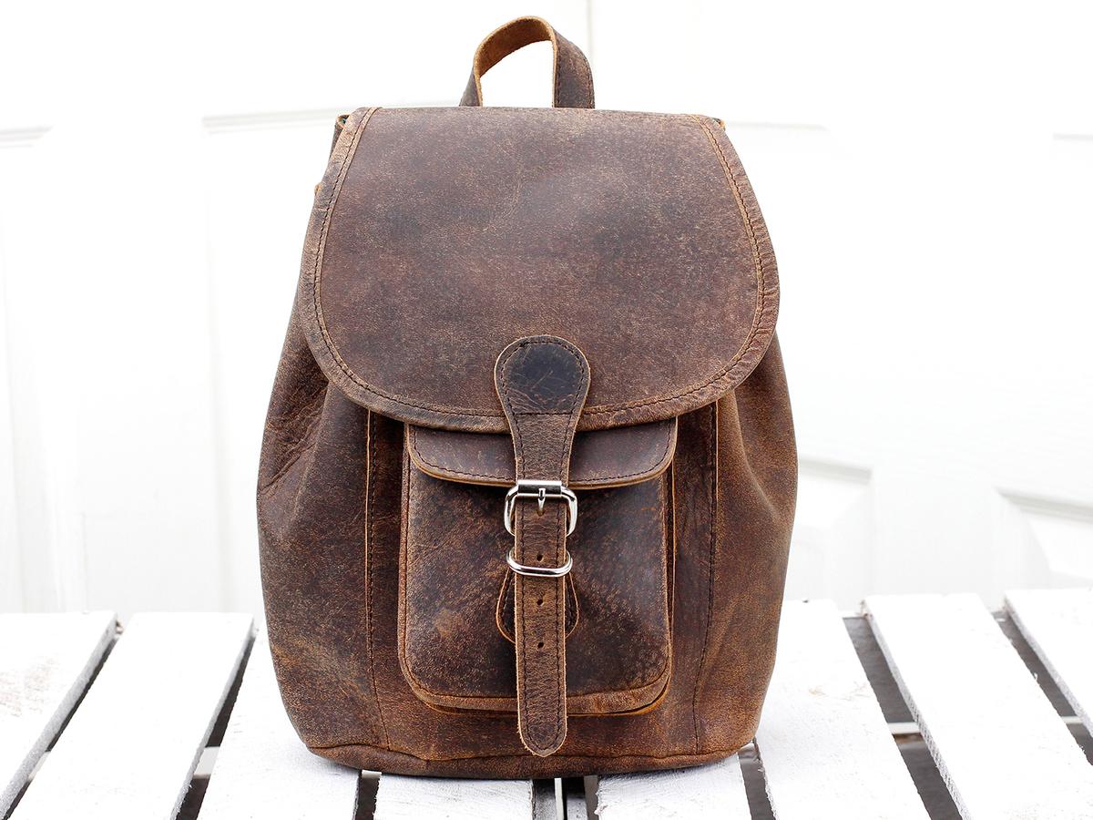 3e383fb30 Boho Girls And Boys Mini Leather Backpack - Leather Backpacks ...