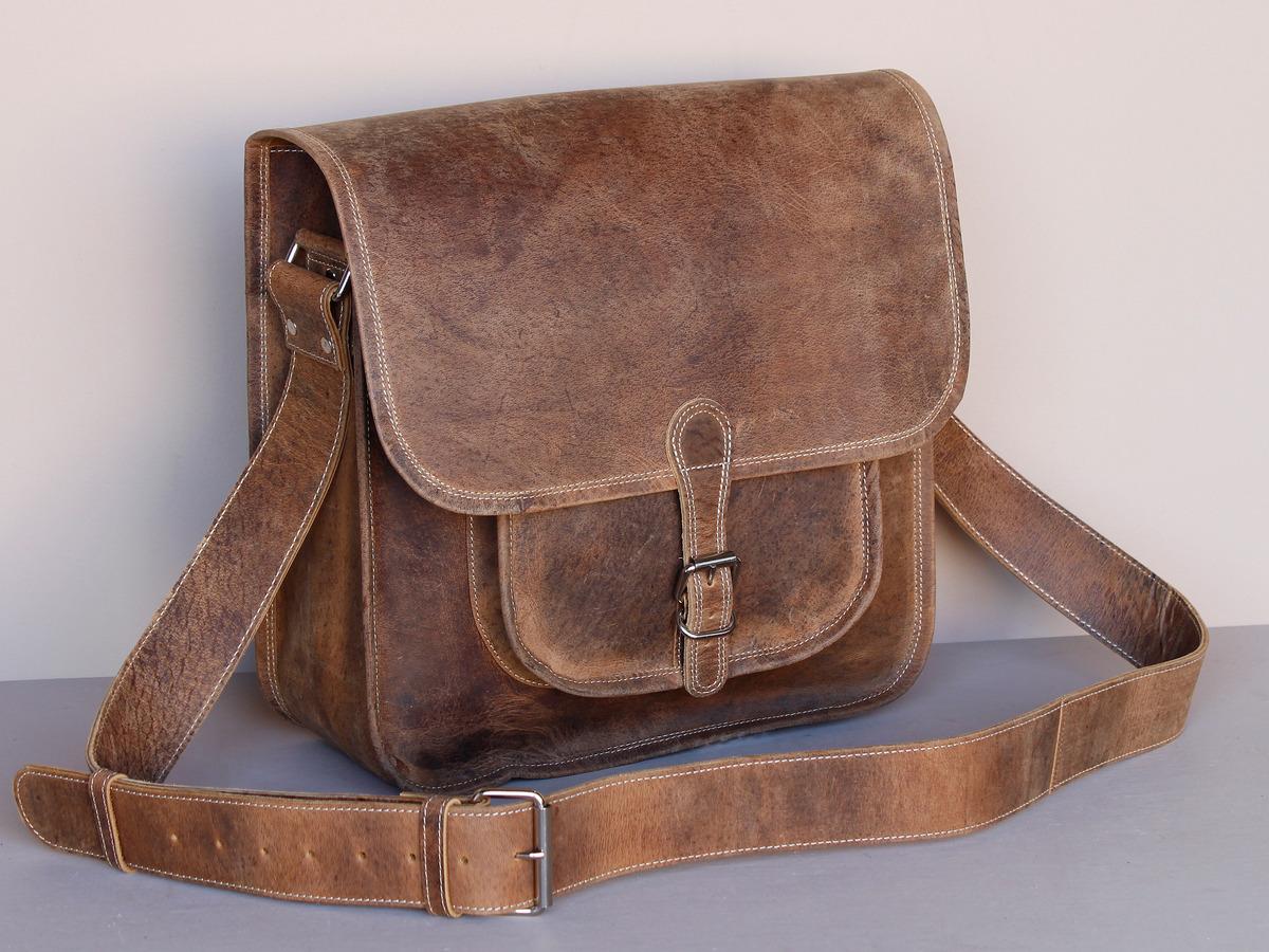 cf5c4f2dfc Boys And Girls Large Vintage Leather Saddle Bag - Sold - Scaramanga