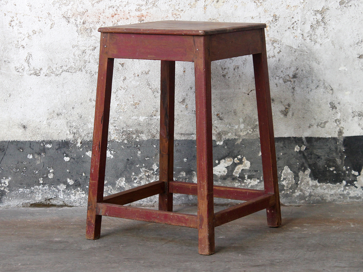 Wooden stool old chairs stools benches scaramanga