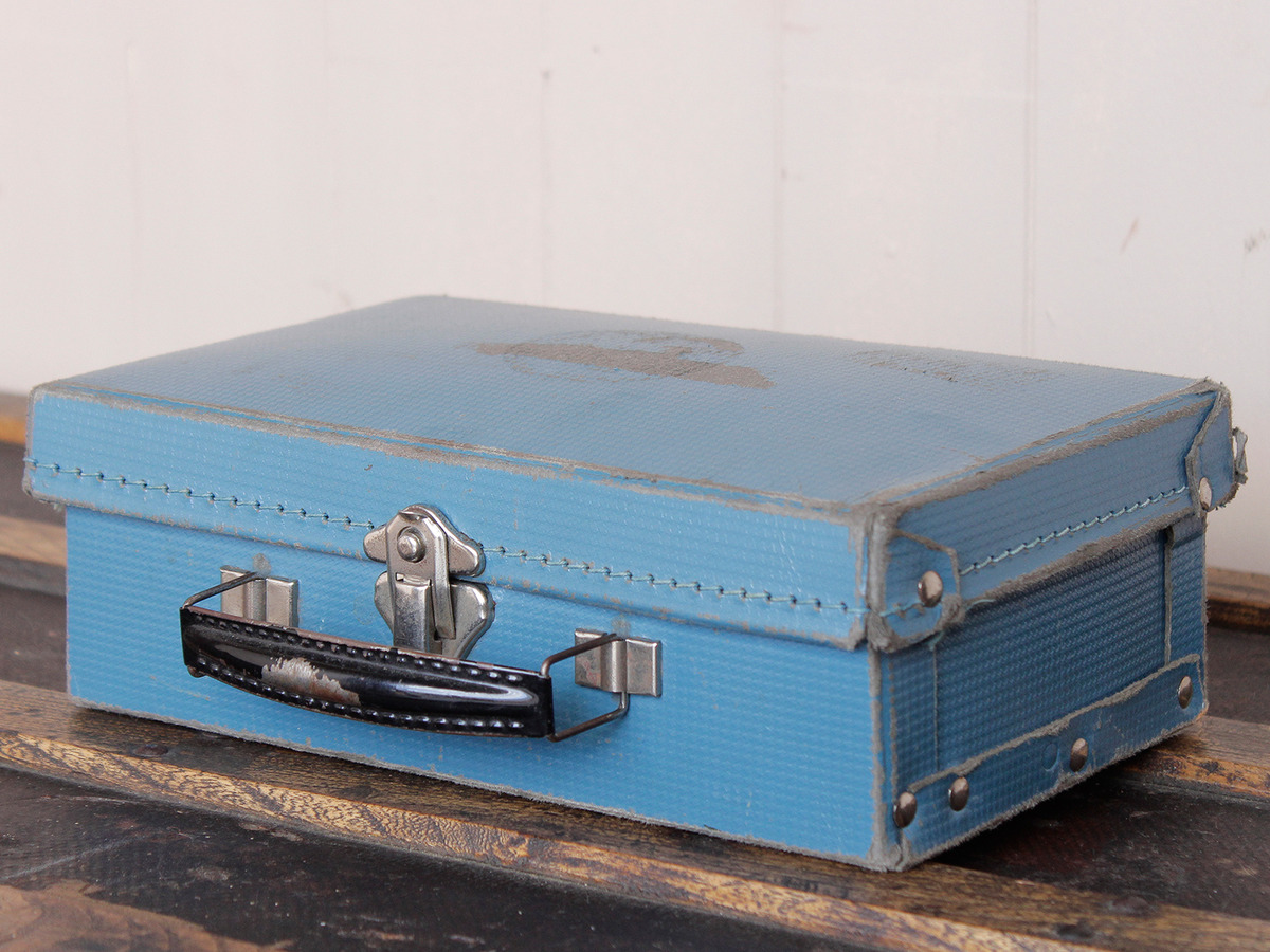 Small Retro Suitcase - Sold - Scaramanga