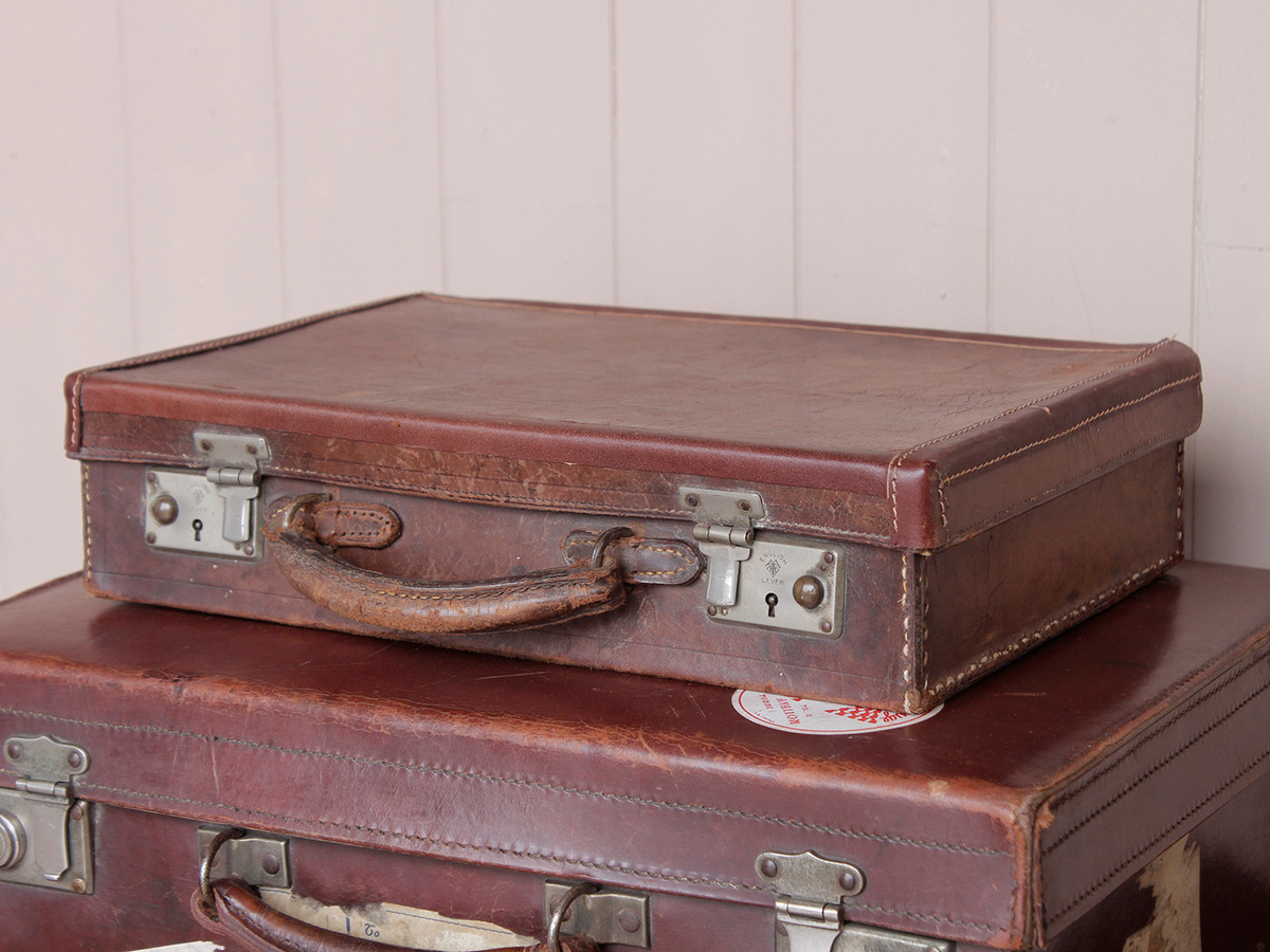Classic Leather Suitcase - Sold - Scaramanga