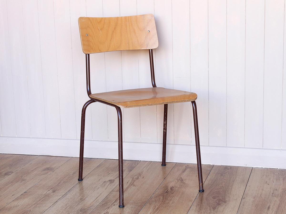 Retro Wood Ply Stacking Chair Set Of 4 Sold Scaramanga