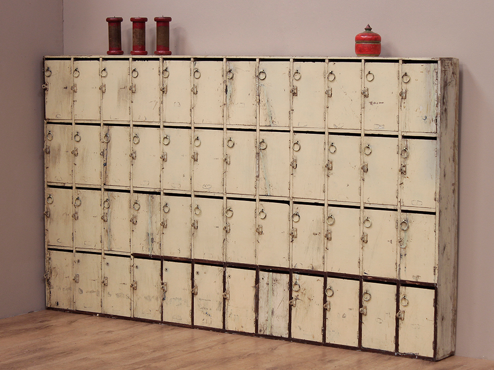 original vintage bank of pigeon holes sold scaramanga. Black Bedroom Furniture Sets. Home Design Ideas