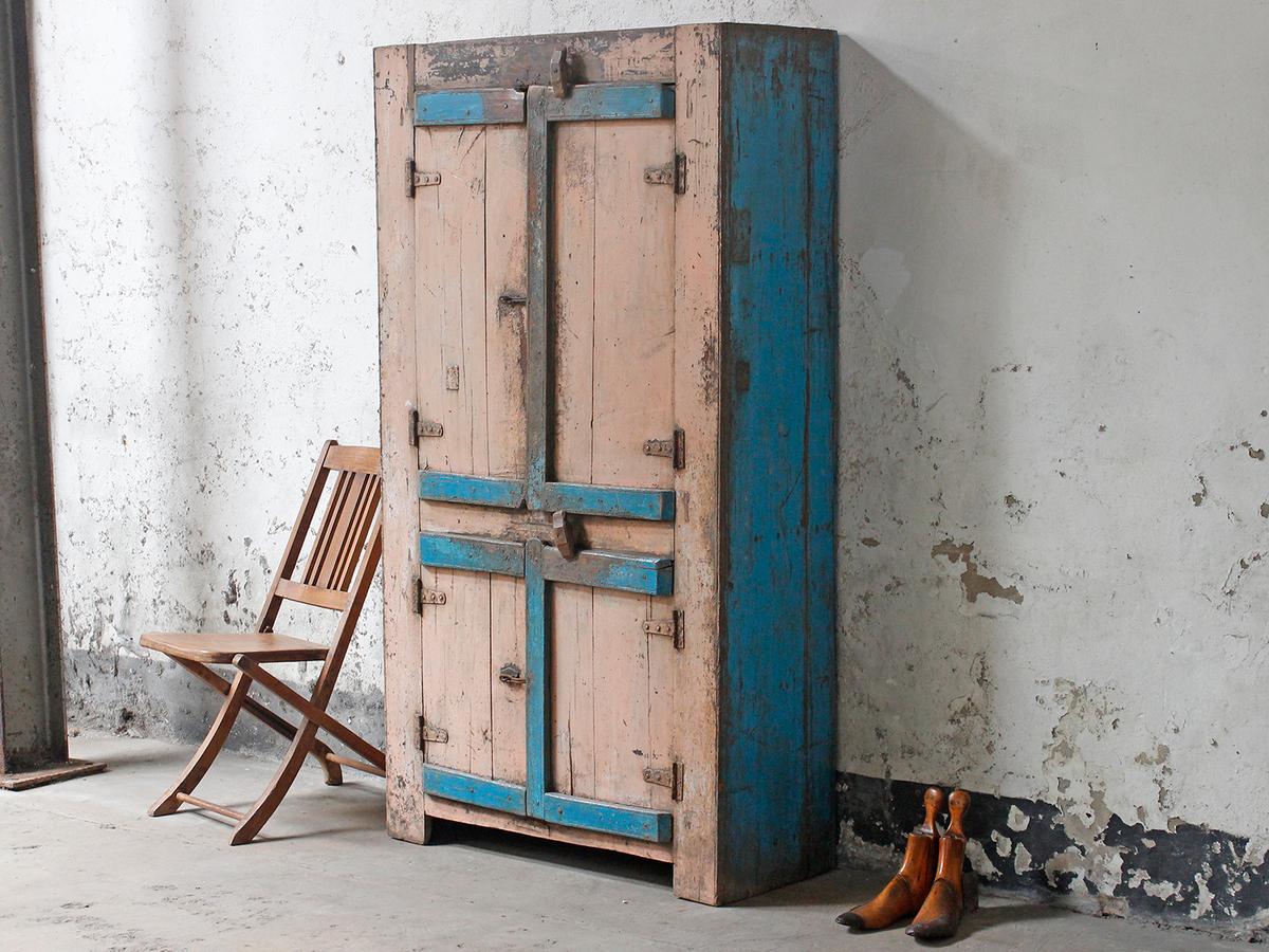 shabby chic wardrobe vintage cabinets cupboards. Black Bedroom Furniture Sets. Home Design Ideas