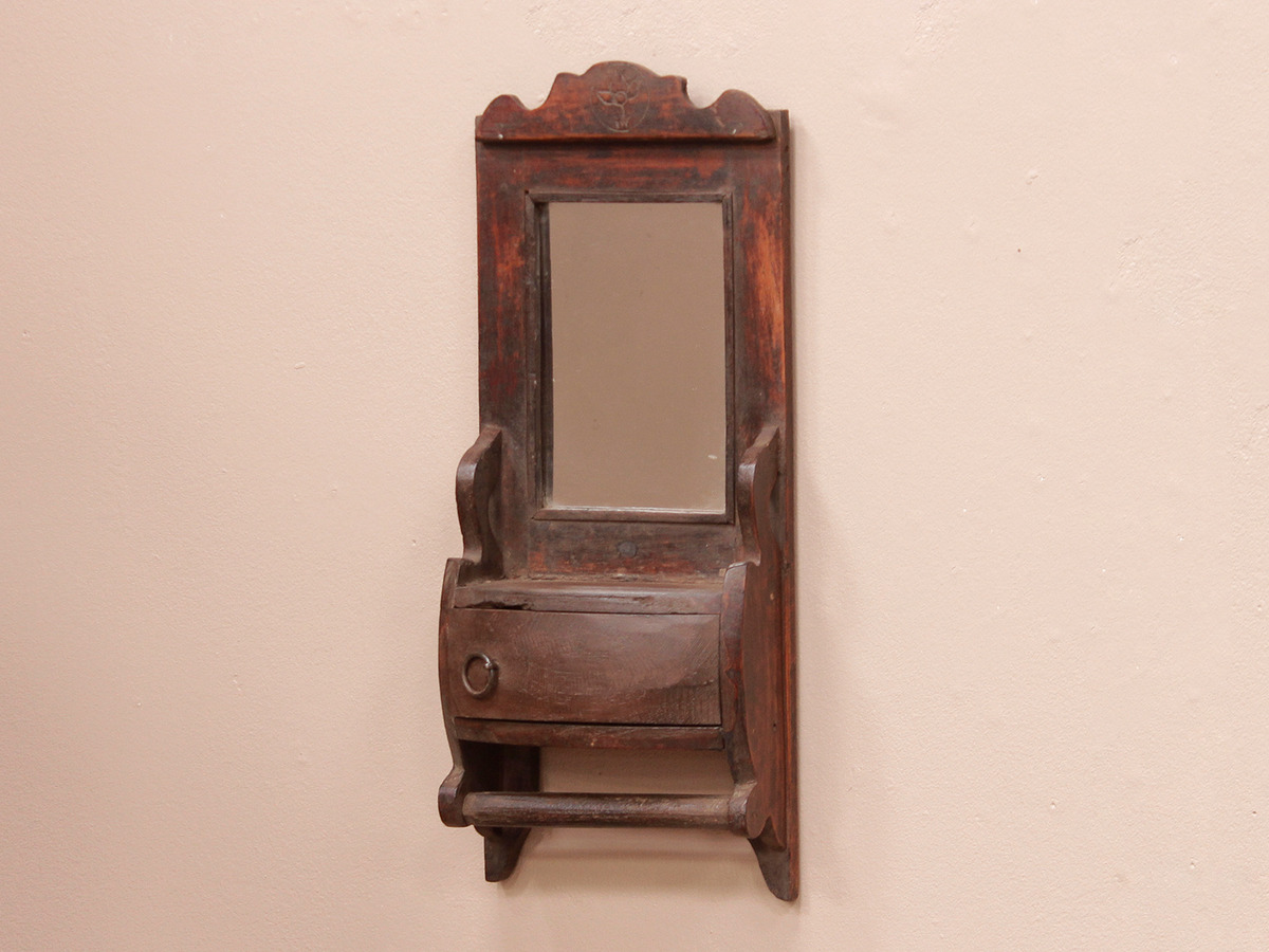Rustic shaving mirror for the home scaramanga for Shaving mirror