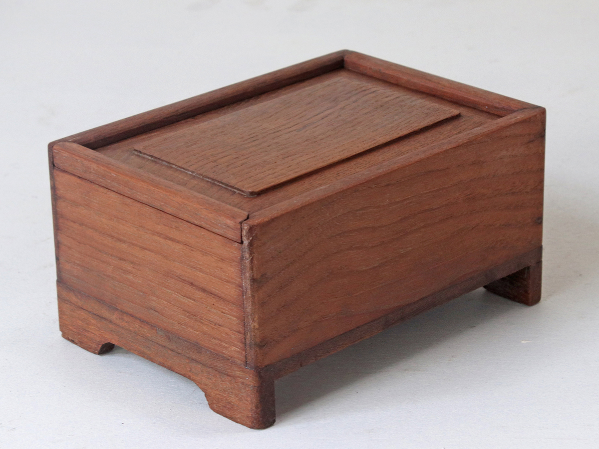 Small Wooden Storage Box Furniture Scaramanga