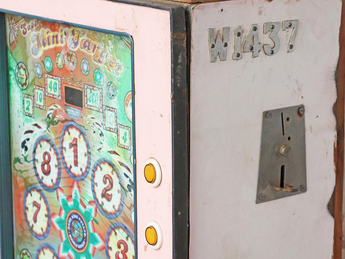 Printing & Graphic Essentials Type, Cuts & Printing Blocks Antique Printing Block Of Antique Arcade Or Slot Machine 5 Card Machine