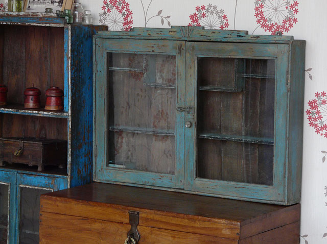 Vintage Glass Cabinet 421 - Sold - Scaramanga