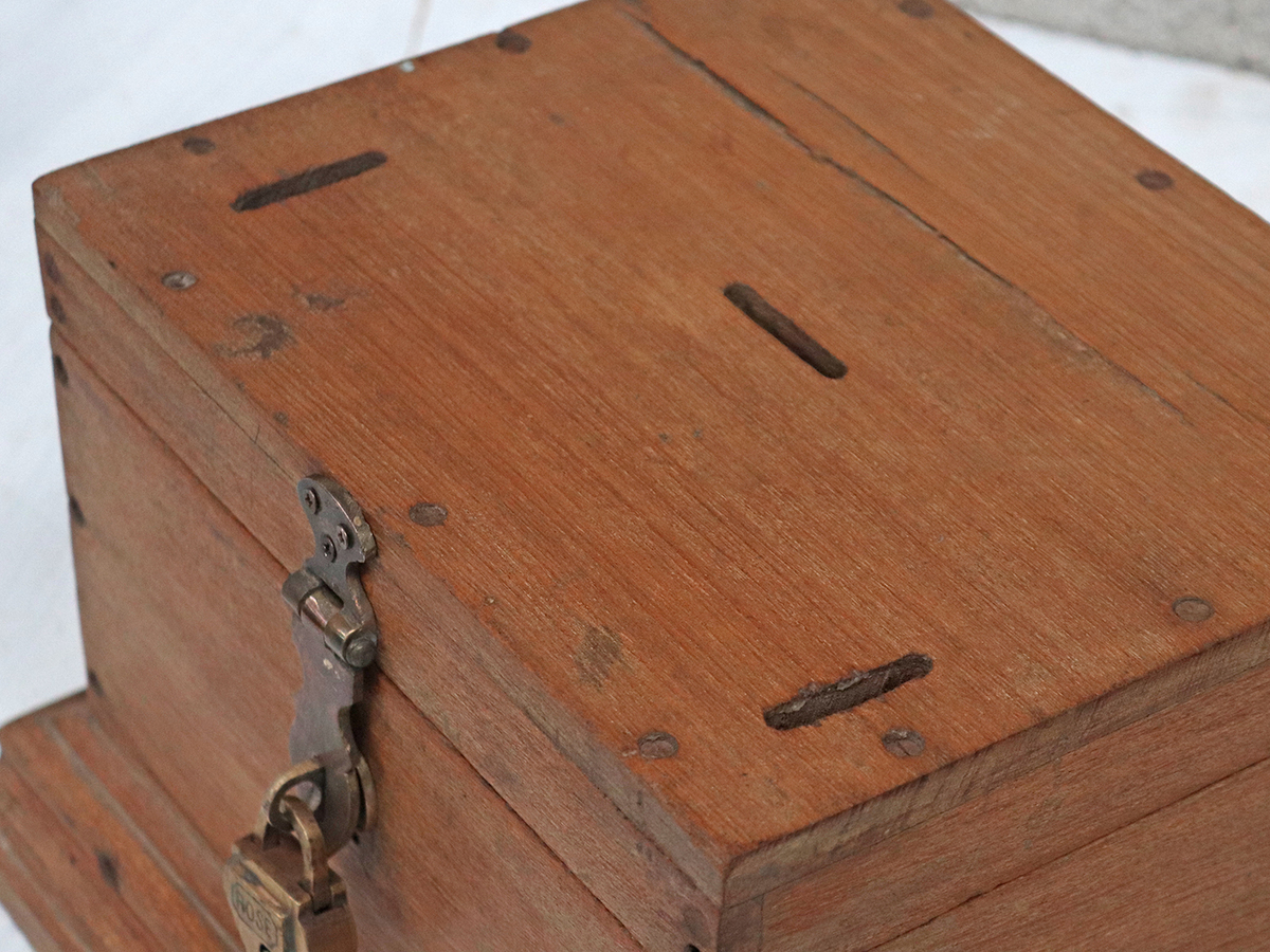 Wooden Jewellery Box - Old Wooden Chests, Trunks & Boxes ...