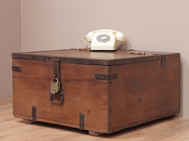 old military teak chest sold scaramanga. Black Bedroom Furniture Sets. Home Design Ideas